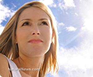 Woman-Sun-Sunlight-Sky-Vitamin-D
